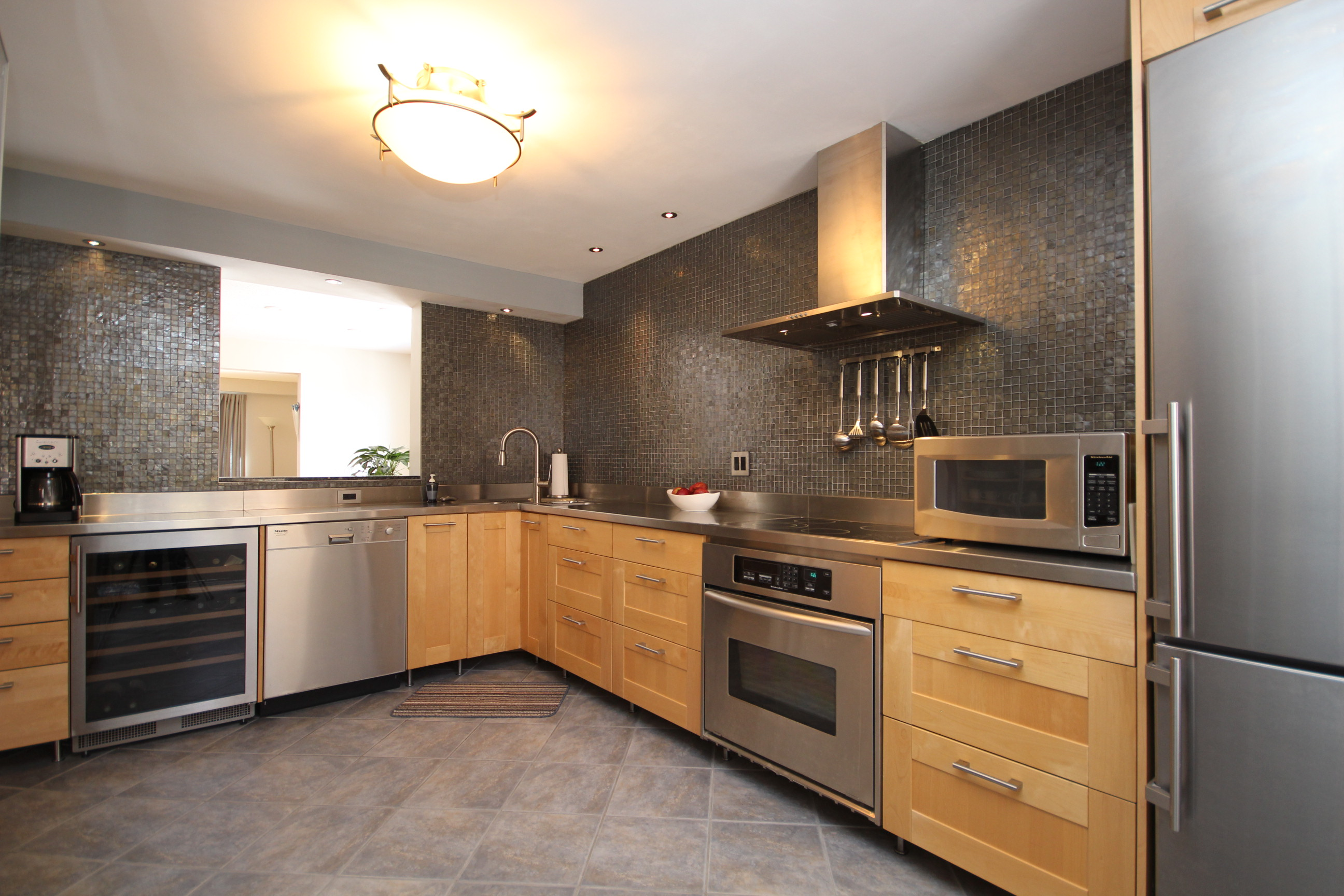 Kitchen Tiles Ottawa modernized town-home in the civic hospital community is sold