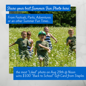 Visit: http://goo.gl/Mh9O4F to enter our summer fun contest for your chance to win $100 gift card to staples.