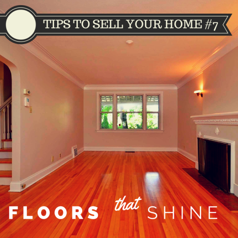 For the last of our Simple Upgrades series of Tips to Sell Your Home we'll push to the upper end of the spectrum.  Hardwood, Ceramic, and Porceline are three of the most valuable words in real estate marketing.  These words raise the average price and lower the time to sell homes dramatically...but be warned about over improving your home.  While carpet is passé, there are some faux hardwood treatments that are both low cost and fairly simple to install. This is a consult with a stager and REALTOR® moment of selling your home.  It will help, but depending on the price range your home will sell in you'll need to customize the end result.
