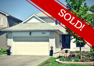 1730 Teakdale is Sold