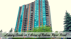 End Cap 3580 Rivergate Way #1104 - 1653 sq ft of Luxury overlooking NCC lands by the Rideau River - End Cap