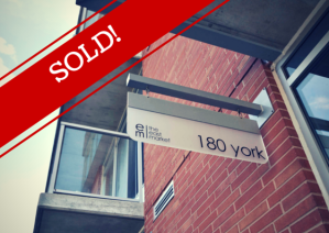 180 York St - Suite 1301 is SOLD