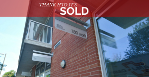 180 York #807 is SOLD