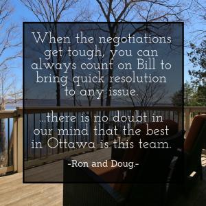 Ron & Doug Testemonial