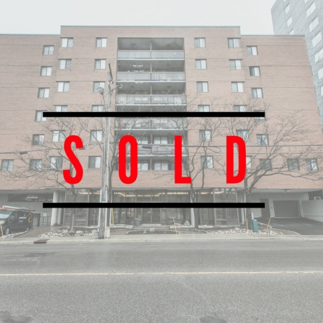 191 Parkdale #104 is SOLD